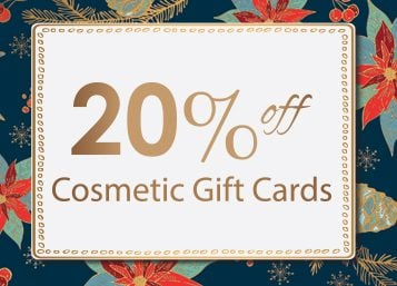 20% Off Cosmetic Gift Cards