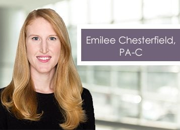 Welcome Emilee Chesterfield, PA-C