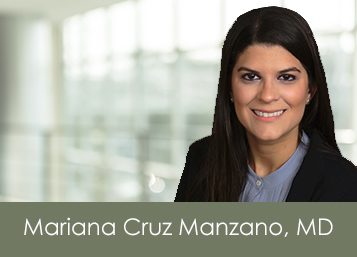 Welcome Dr. Mariana Cruz Manzano