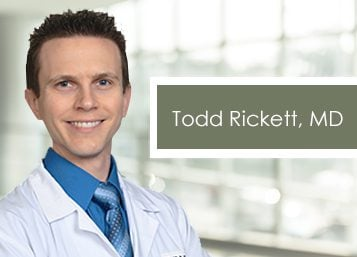 Welcome Dr. Todd Rickett