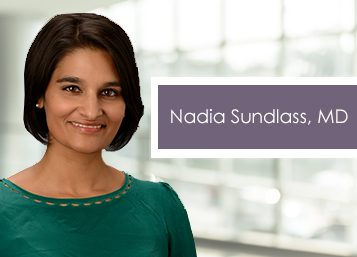 Welcome Dr. Nadia Sundlass