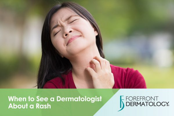 When to See a Dermatologist About a Skin Rash