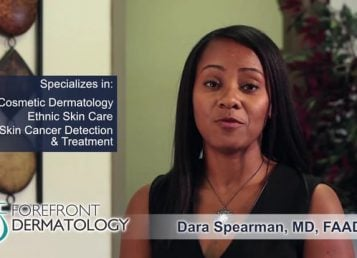 Meet Your Dermatologist – Dr. Dara Spearman FAAD