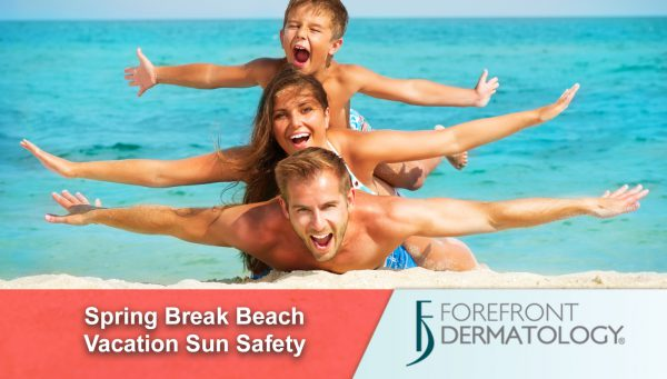 Sun Safety for a Spring Break Vacation at the Beach
