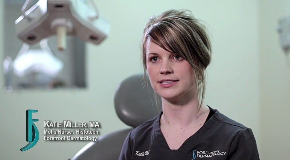Video about Katie Miller, Histotech/ Mohs Nurse