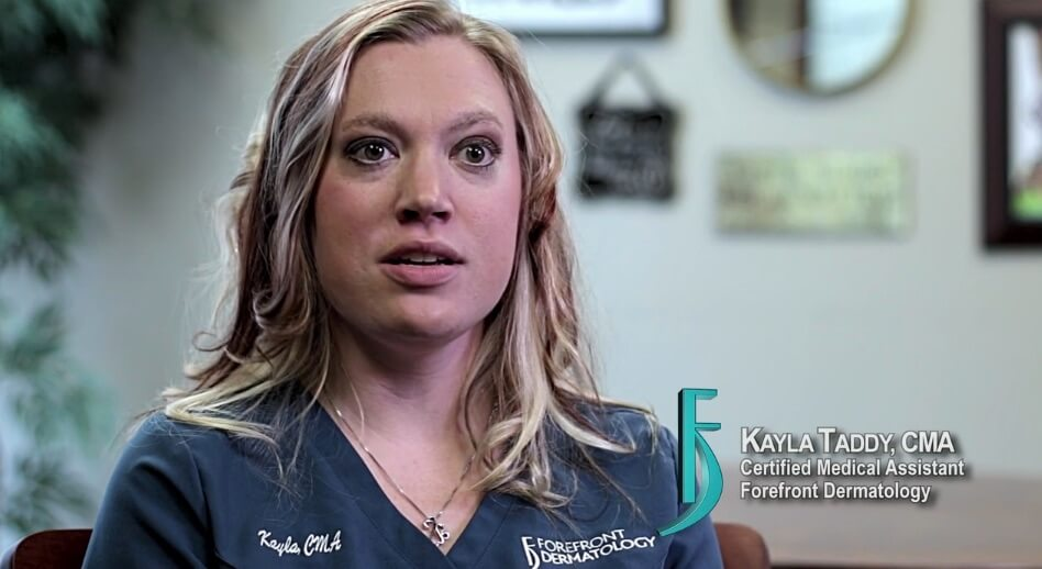 Video about Kayla Taddy, Certified Medical Assistant