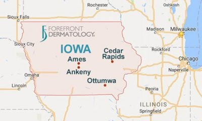 FOREFRONT DERMATOLOGY EXPANDS IN IOWA