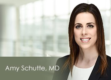 Welcome Dr. Amy Schutte