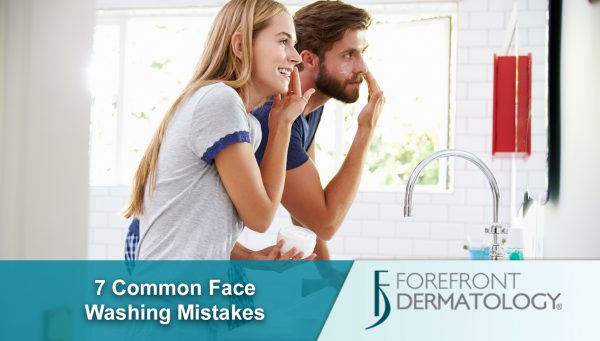 7 Common Face Washing Mistakes