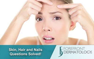 Skin, Hair and Nail Problems ANSWERED