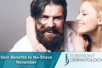 Skin Benefits to No-Shave November