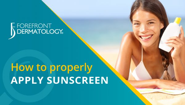 How to Properly Apply Sunscreen