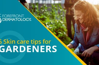 5 Skin Care Tips for Gardeners