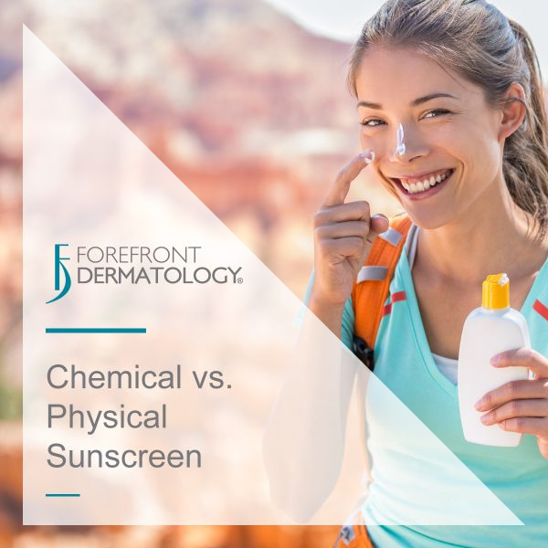 Chemical vs. Physical Sunscreen