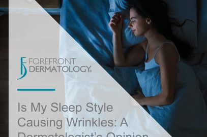 Is My Sleep Style Causing Wrinkles, a Dermatologist's Opinion