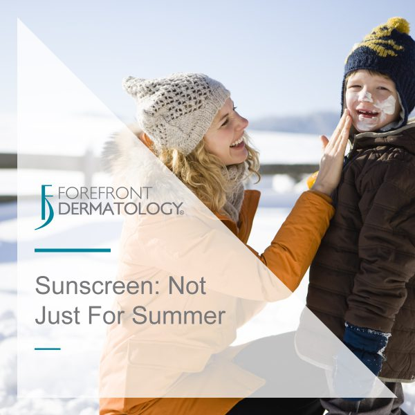 Sunscreen: It's Not Just for Summer