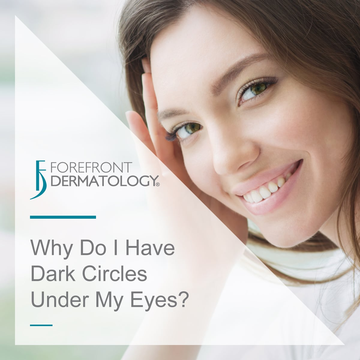 Why Do I Have Dark Circles Under My Eyes?   Forefront ...